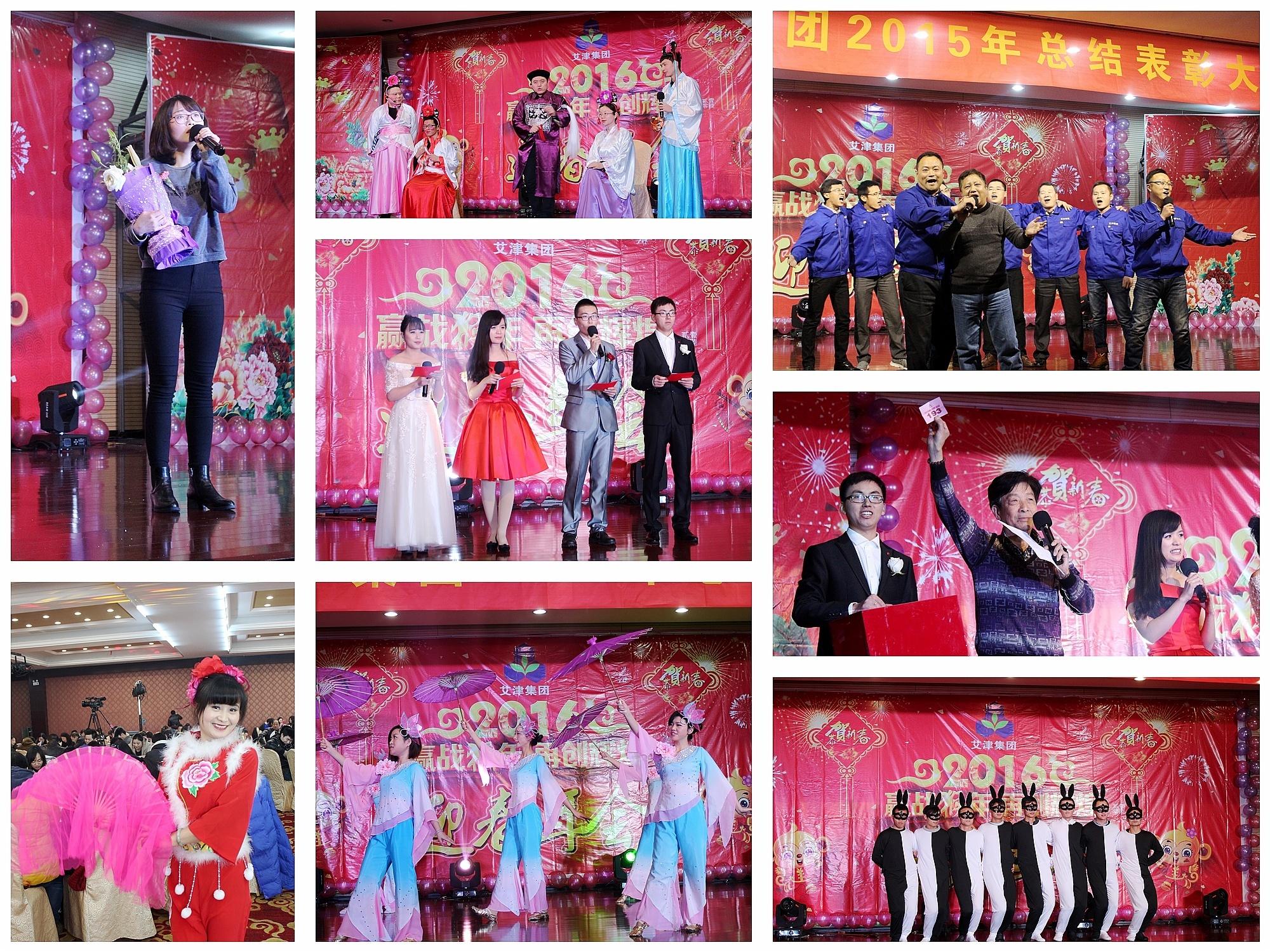 江苏艾津集团2015年终会节目演出